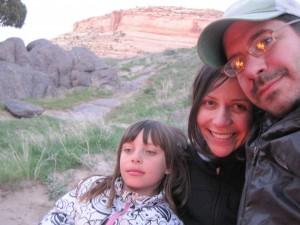 Dave, Antonette and Chloe